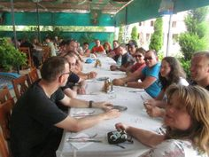 Dinner in Albania