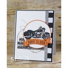 My life is pretty much One Wild Ride without motorcycles, but I do love to stamp them.  This stamp set is everything  happy! :motorcycle:Check out my blog for details. #creative #create #papercrafting #stampinup #handmade