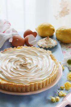 Tartaletas de lemon curd con merengue suizo - The Art of Cupcakes