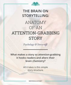 What makes a story so attention-grabbing it hooks readers and alters their brain chemistry? All it takes is a simple story structure. Writing Genres, Fiction Writing, Writing Advice, Writing Resources, Writing Help, Writing Skills, Writing A Book, Writing Ideas, Writing Courses