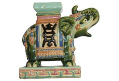 Elephant Garden  Stool on OneKingsLane.com