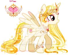 Heart Princess Adoptable CLOSED by YukiAdoptablesPonies on DeviantArt