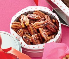 Skinny Holiday Recipes: Five-Spice Pecans.