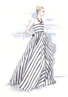 New Ideas for fashion illustration croquis artists Dress Illustration, Fashion Illustration Sketches, Fashion Sketchbook, Fashion Sketches, Drawing Sketches, Dress Sketches, Design Illustrations, Sketching, Sketch Art