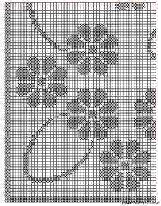Вяжем скатерти и украшаем подушку крючком. Схемы (17) (522x667, 463Kb)