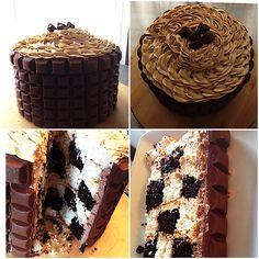Caramilk cake Cake, Desserts, Food, Pie Cake, Meal, Cakes, Deserts, Essen, Hoods