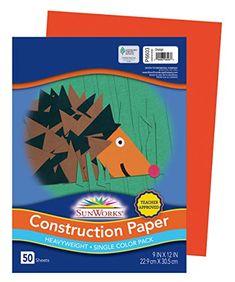 OPtin for Orange construction paper; week 1