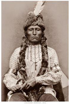 Cheyenne warrior 1878 #GeorgeTupak