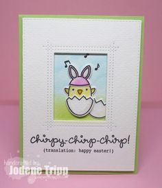 Lawn Fawn Chirpy Chirp Chirp on Pinterest | Lawn Fawn, Easter and ...