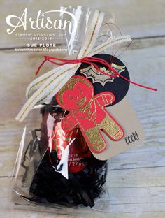 Cookie Cutter Halloween makes ghoulish packaging...all from Stampin' Up!