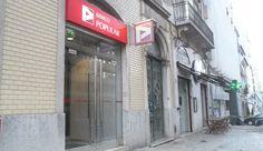 Balcão do Banco Popular em Lisboa (Braamcamp), Portugal