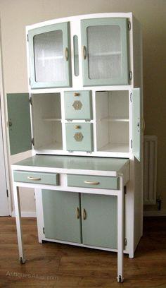 Antiques Atlas - Kitchen Larder Cabinet