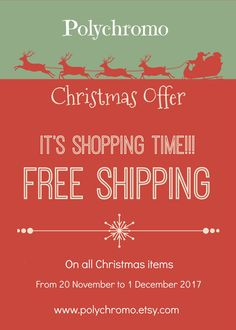 Grab the chance and start your holidays shopping with free shipping!!!