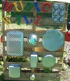Sharing some fabulous DIY Daycare Ideas from around the Web and from our Daycare Spaces and Ideas Community Group on Fac. Toddler Playground, Preschool Playground, Preschool Garden, Outdoor Playground, Playground Ideas, Outdoor Learning Spaces, Kids Outdoor Play, Outdoor Play Areas, Backyard Play