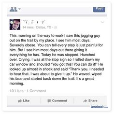 Funny Facebook Status Gives Me Hope Faith In Humanity Restored