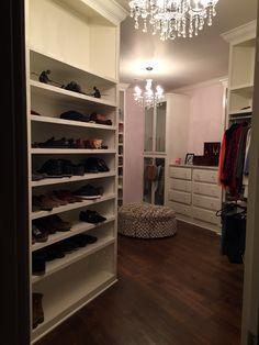 Love my closet!
