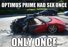 Will this make you laugh? Optimus prime | #optimus, #prime, #sex, #just, #once, #funny