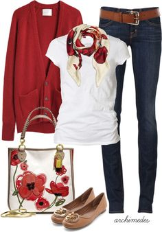 """Poppy"" by archimedes16 on Polyvore"
