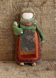 """Купить Куколка-мамушка """"Рябинка- мамушка..."""" - народная кукла, народная традиция, материнство, зеленый"""