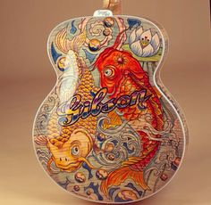 Tattoo Super 400 - guitar designed for Gibson by Bruce Kunkel
