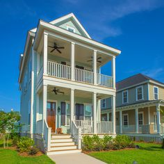 Traditional Style Architecture on one of the homes from our Freeman's Point community in Charleston