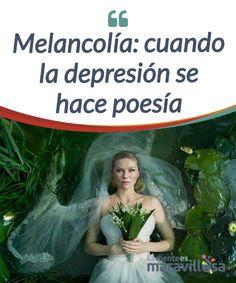 Melancolía: cuando la depresión se hace poesía   La película #Melancolía es un #homenaje a todas la personas que padecen una #depresión melancólica. Poesía y dolor para deleite de los sentidos.  #Películas