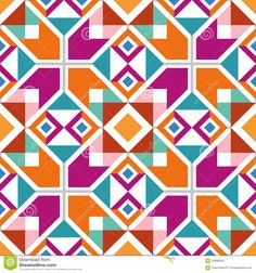 Geometric Seamless Pattern - Download From Over 29 Million High Quality Stock Photos, Images, Vectors. Sign up for FREE today. Image: 32689033