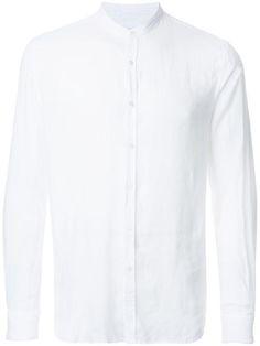 VENROY band collar shirt. #venroy #cloth #stehkragen