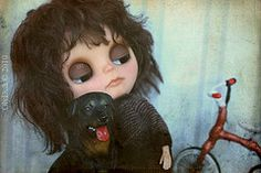 19 (Olydoll) Tags: boy darkroom toy miniature doll 666 damien horror demon devil blythe custom thorn 1976 omen adg devilbaby dollroom olydoll olydolls
