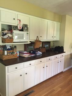 Wet Bar Area Move Microwave To Island