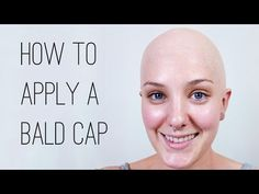 How to Apply and Paint a Plastic Bald Cap - YouTube