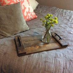 Ottoman Trays Home Decor Mesmerizing Distressed Turquoise Wooden Serving Tray  Crafts  Pinterest Design Ideas