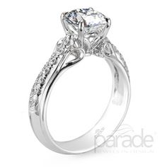 R2803 from Parade Design. #engagement #bridal #ring #wedding