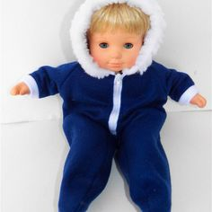Navy blue snowsuit! No substitutions on color available because I may be out of the color. If you need more for your boy and girl twins- look