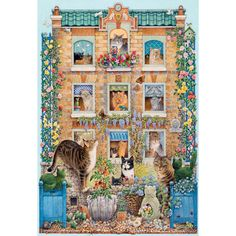 Peeping Tom 500-Piece Jigsaw // Puzzles and Jigsaws at the Owl Barn