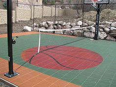 View photos from our Court Builders or basketball courts, tennis courts, or other surfaces made with our Court Builder™ to design your own court!