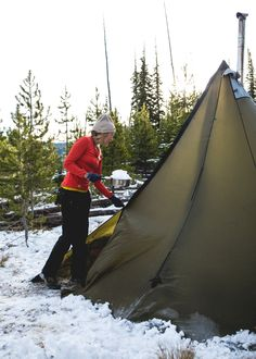 Winter Camping Trip - The Noisy Plume