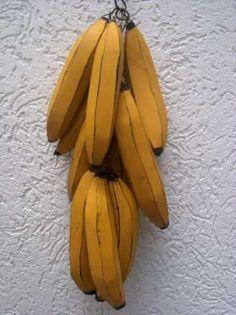 Penca De Bananas Madeira Artesanato Mineiro