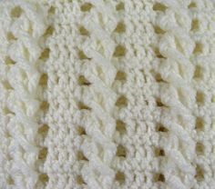 Vanilla Twist PDF Pattern Crocheted Baby Afghan CAR SEAT by thejewellshandmades, $3.00