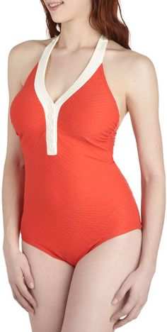 The Shore At Sunrise One Piece - Lyst