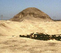 The pyramid of Amenemhat III at Hawara, in Fayoum Province            12th Dynasty     The new line of pharaohs moved the capital back north from Thebes and resumed the building of pyramids for their tombs. The 12th Dynasty was one of great prosperity, which also re-established Egyptian control of Nubia, an area that straddled what is today the border of Egypt and Sudan. It was an important source of raw materials - especially gold - and was a crucial conduit of trade from central Africa.