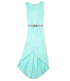 Bonnie Jean 716 Sleeveless CascadingRuffle Dress #Dillards | My ...