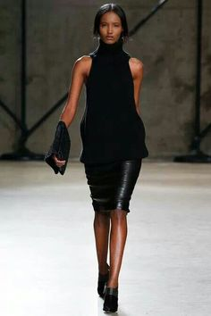 Sally LaPointe Fall 2014 Ready-to-Wear Collection Photos - Vogue 2014 Fashion Trends, Fashion Ideas, Vogue, Fashion Show, Fashion Design, Women's Fashion, Dress Me Up, Knitwear, Ready To Wear