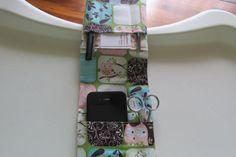 Nurse Pocket Organizer Lab Coat Organizer Scrubs by LadyBugSewn