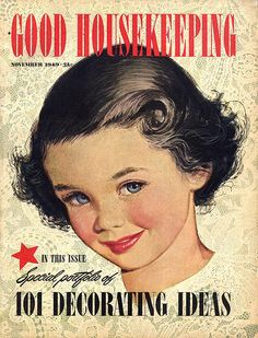 c1949 Good Housekeeping cover Issue- by leifpeng, via Flickr