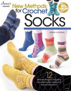 new method for crochet socks book