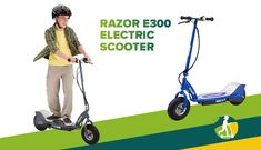 Razor E300 Electric Scooter Best Electric Scooter, Modus Operandi, Public Transport, Baby Strollers, Good Things, Baby Prams