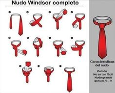 How to Tie a Double Windsor Neck-Tie? How to Tie a Full Windsor Necktie Knot Video Double Windsor Tie, Windsor Tie Knot, Half Windsor, Tie Knot Steps, Four In Hand Knot, Types Of Ties, Tie A Necktie