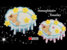 MANUALIDADES YONAIMY Mesas Para Baby Shower, Projects For Kids, Christmas Ornaments, Holiday Decor, Videos, Youtube, Home Decor, Baby Shower Centerpieces, Felt Patterns