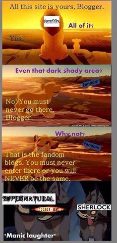 The dark side of tumblr
